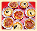 Mini pizza buffet festa infantil confraternização aniversário